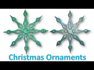 Scroll Saw Projects - How to make Christmas Ornaments