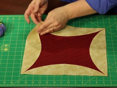 Sew Easy: How to Piece a Quilt -- Orange Peel Piecing