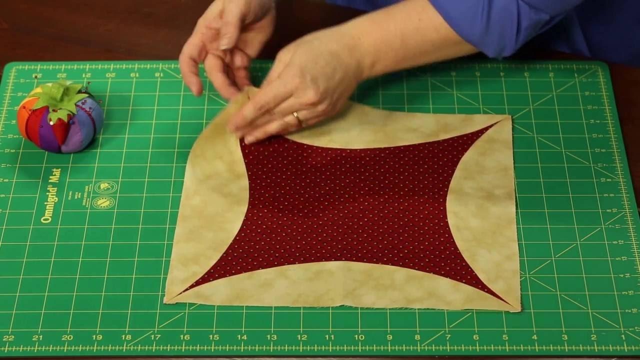 Sew Easy: How to Piece a Quilt -- Orange Peel Piecing