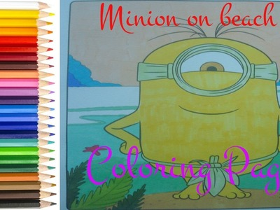 Coloring Pages For Kids - Minion Coloring Pages - How to color Minion - #minion