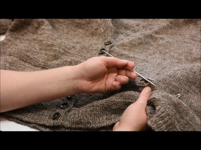 """Cutting Your Knitting - """"Afterthought Pocket"""" Part 1"""