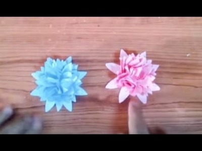 DIY Creative Ideas - How to Make Easy & Beautiful Paper Flowers + Tutorial .