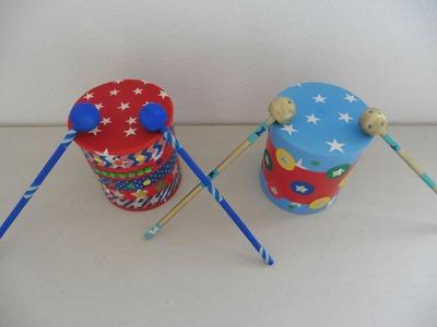 DIY- Tambores ⭐️. Drums ⭐️ - Creative Flower