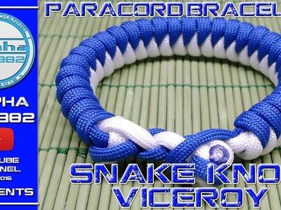 EPIC Paracord Bracelet Snake Knot Viceroy How To Make 2017 679620dd2
