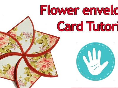 Flower Envelope Card Tutorial | How to make Flower Envelope