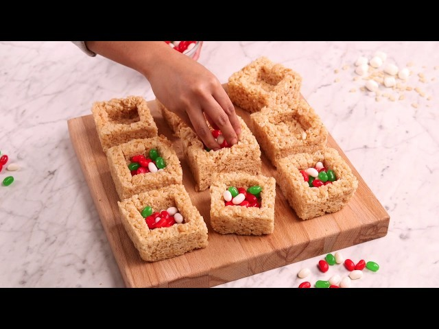 Holiday Idea! How to Make Jelly Belly Gift Boxes (rice cereal and marshmallow)