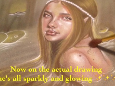 How to add Sparkles ,Glitter ,Glowing Effect  to Drawings with with Pearl-EX Powder