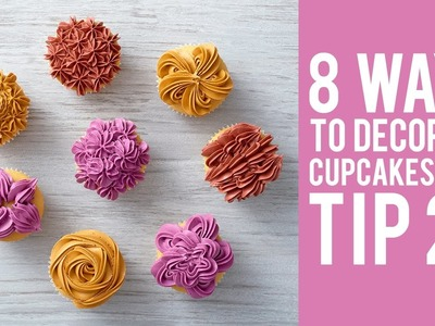 How to Decorate Cupcakes with Wilton Tip 2F