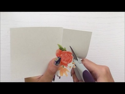 How To Foil A Stamped Image Using Altenew Floral Frame