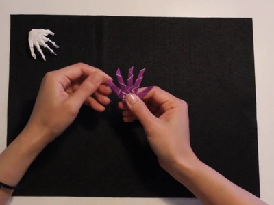 How To Fold An Origami Skeleton Hand