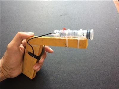 How To Make a Air Gun Using Syringe