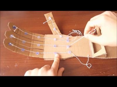 How to make a cardboard arm