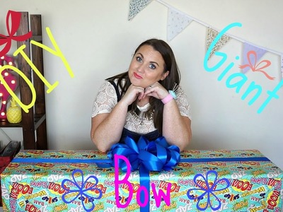 How to make a Giant Gift Bow