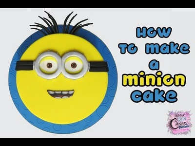 How To Make A Minion Cake: The Krazy Kool Cakes Way!