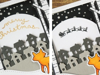 How to make a spinning Christmas card