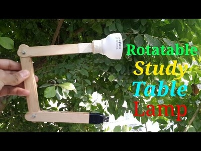 How to make a study table lamp