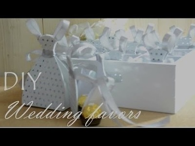 How to make a wedding favor bag!