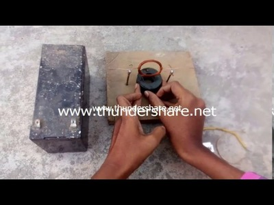 How to make dc motor (in hindi) at home