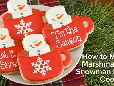 How to Make Marshmallow Snowman Mug Cookies