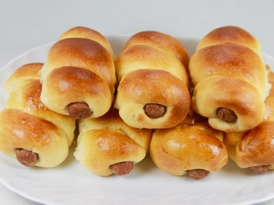 How to make sausage bread roll.bun.soft & chewy.best result - Food At Home
