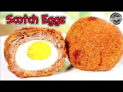 How to make SCOTCH EGGS - DIY Home made recipe