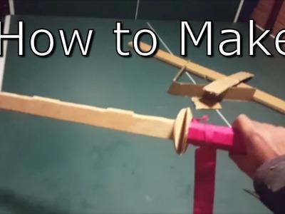 How To Make: WOODEN NINJATO STYLE SWORD - Very Easy