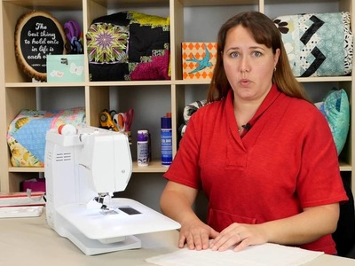How to Quilt Using A Walking Foot