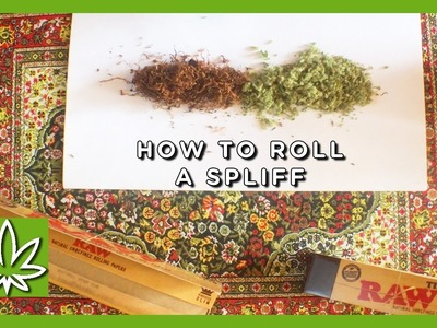 How to Roll a Spliff || Weed 101