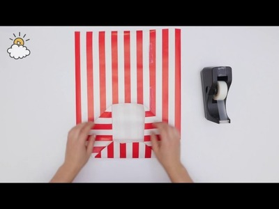 How To Turn Wrapping Paper Into A Gift Bag DIY