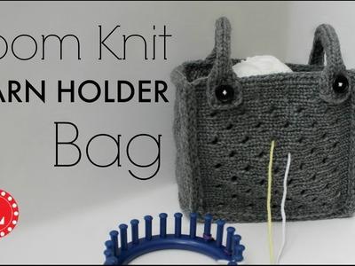 Loom Knitting Yarn Holder Bag