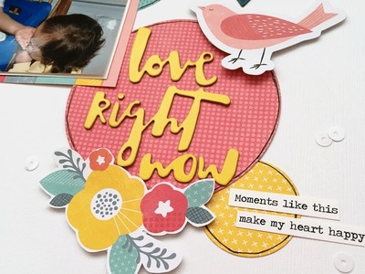 Process Video 131: Love Right Now (My Creative Scrapbook)