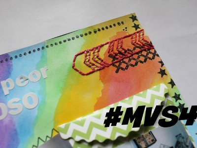 Temas 9,10 y 11.  Mi Vida en Scrap 4, Video 6 TUTORIAL SCRAPBOOK * Creaciones Izzy