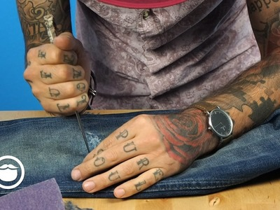How to Distress Your Denim | Carlos Costa
