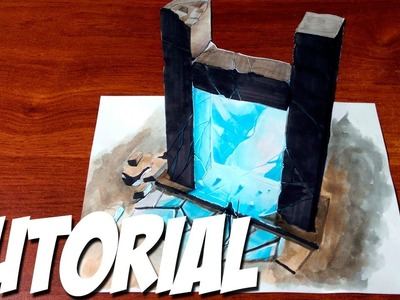 How to Draw a 3D Magic Portal