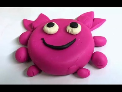 How to make a Crab from Play-Doh