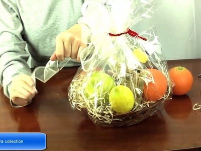 How To Make A Fruit Basket.