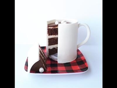 How to Make a Hot Cocoa Mug Cake!