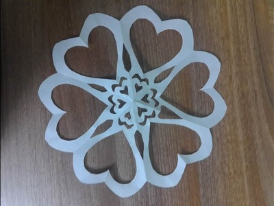How to make a paper heart - paper cutting   Kirigami - by Dzung Mac