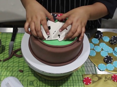How to make a Poker Cake | Bake To Play