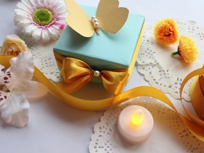 HOW TO MAKE EASY CHEAP WEDDING FAVOR- DIY IDEAS