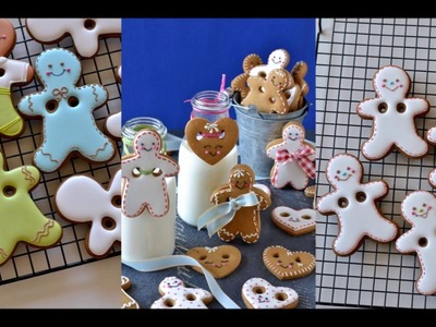 How to make gingerbread man cookie