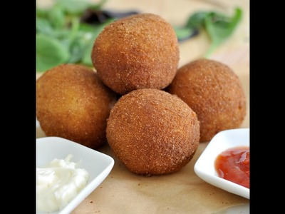 How to make Italian Potato Croquettes by Cooking with Manuela