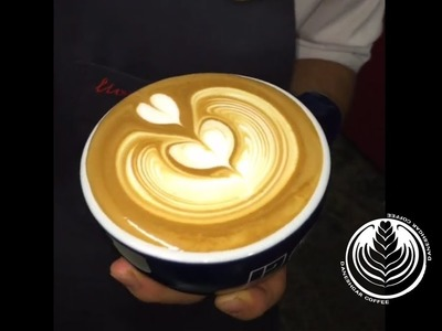 How To Make Latte Art : Wing Tulip (Part 3)