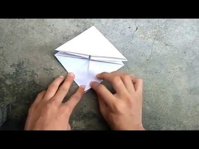 How to Make Paper Jumping Frog: 5 minutes