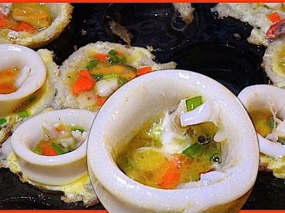 How to make Seafoods in the way of Thai sweetmeat - Street Food