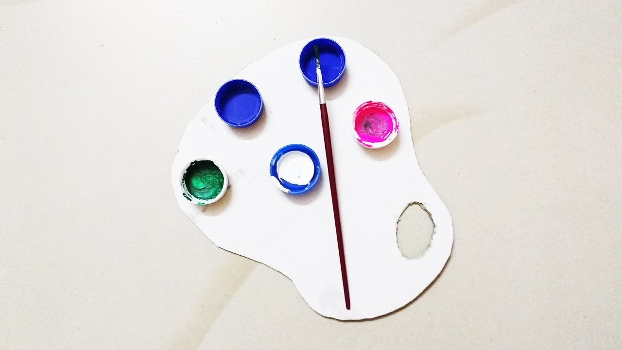 How to make your own paint palette - Crafts Bin