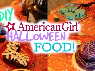 DIY American Girl Halloween Treats!
