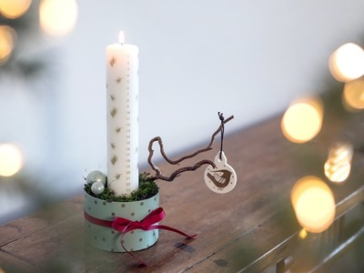 DIY: Christmas decoration by Søstrene Grene