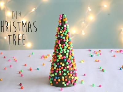 DIY : Christmas Tree (Thermocol Ball)