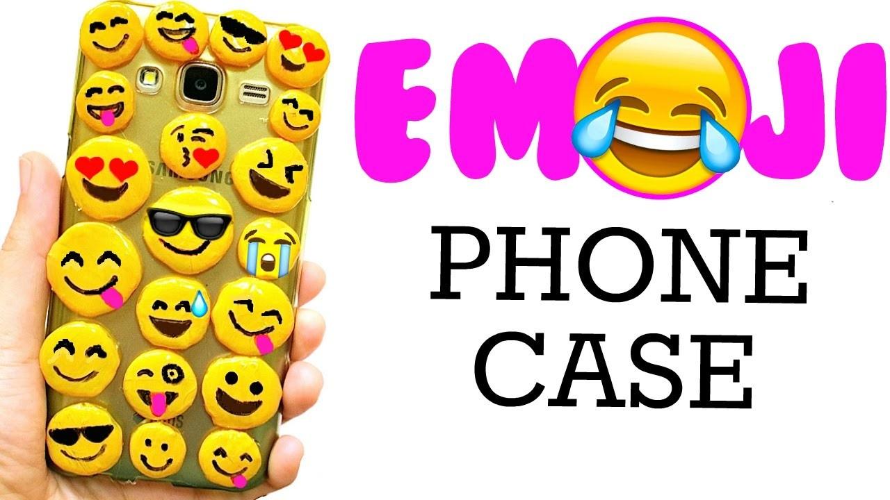 DIY EMOJI PHONE CASE | Cute & Easy